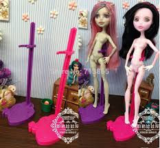 2015 doll stand display holder monster dolls