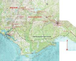 Panhandle Florida Map by De Soto U0027s Trails Thru Florida Part 3 Of 4