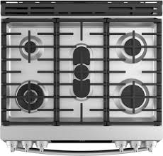 Slide In Gas Cooktop Ge Profile Pgs930selss 30 Inch Slide In Gas Range With Sealed