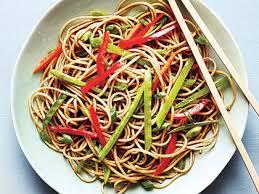 noodle salad recipes soba noodle salad recipe myrecipes