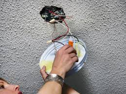 Wiring A Ceiling Light Fixture How To Replace A Light Fixture With A Ceiling Fan How Tos Diy