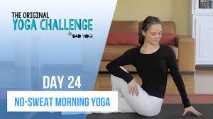 The Original Challenge Original Challenge Day 24 No Sweat Morning Beginner