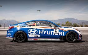 hyundai genesis drift rhys millen driving refreshed 2013 hyundai genesis coupe for 2012