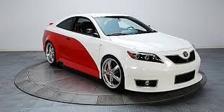 modified toyota camry electric cars modified toyota camry s inspired by nascar s cars