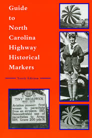 North Carolina best travel books images Guide to north carolina highway historical markers michael hill jpg