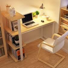 modern wood home office desk corner computer pc table workstation