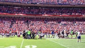 Bronco Flag Pre Denver Broncos V Eagles Flag Ceremony Youtube
