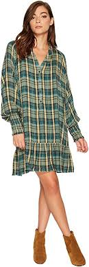 dresses plaid shipped free at zappos