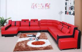 sectional sofas black and red sectional sofa red black