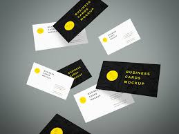 Business Cards Mockups Flying Business Cards Mockup Vol 4 Graphberry Com