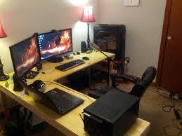 furniture computer desks for gamers home desk design then image