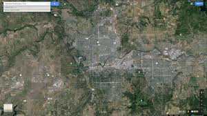 Washington Google Maps by Spokane Washington Map