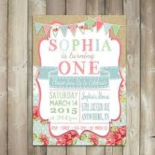 vintage first birthday invitations google search vintage 1st
