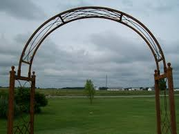 wrought iron arch trellis pictures to pin on pinterest thepinsta