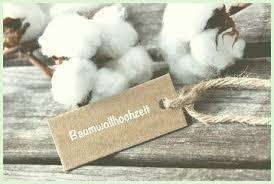 ideen zum hochzeitstag 2 hochzeitstag ideen baumwolle baumwoll hochzeitstag geschenke