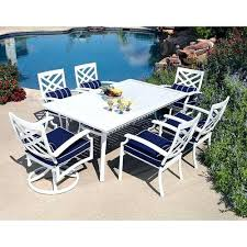 white round outdoor dining table white outdoor dining table