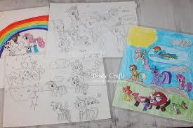 doodlecraft design draw pony