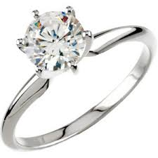 White Gold Cz Wedding Rings by Bridal Cz Jewelry Solid 14k Gold Wedding Sets 14k Gold