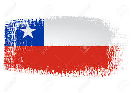 Chile Santiago Flag Brushstroke Flag Chile Royalty Free Cliparts Vectors And Stock