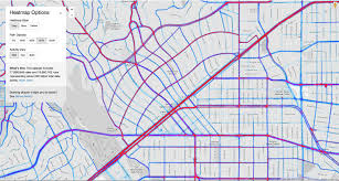 Map Of Beverly Hills Los Angeles by Strava App Data Maps Rides For Planners Too Better Bike