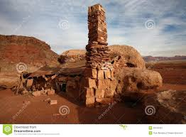 desert stone rock house stock photo image 39744401
