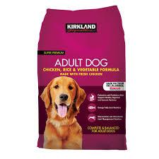 kirkland signature formula chicken rice and vegetable dog