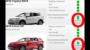 lexus hybrid suv 7 seater comparison toyota rav4 hybrid vs lexus nx300h youtube
