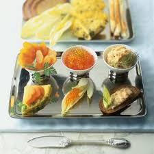 recette de cuisine saumon recette amuse bouches aux œufs de saumon mousse de poissons