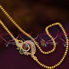 golden girl necklace images Best 75 side mogappu designs images india jewelry jpg