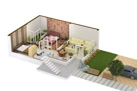 3d Home Design 5 Marla by Khayaban E Amin Lahore Plot Prices Maps Houses