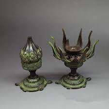 2018 antique bronze copper candlestick ornaments antique nepal