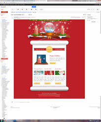 gmail newsletter template lovely merry christmas email template