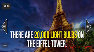 The Eiffel Tower by Eiffel Tower Facts 20 Facts About The Eiffel Tower Youtube