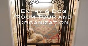 entry u0026 dog room tour and organization youtube