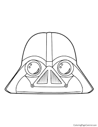 angry birds star wars u2013 darth vader 01 coloring page coloring