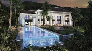 style mansions splendid contemporary style mansion spain luxury homes