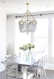 Dining Room Chandeliers Transitional Fiona Beaded Chandelier Transitional Dining Room Owen And