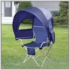 Camping Lounge Chair Heavy Duty Camping Chairs With Canopy Chair Home Furniture