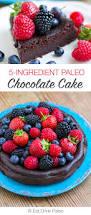 5 ingredient paleo chocolate cake nut free grain free keto
