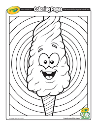 candy coloring pages silly scents cotton candy coloring page free coloring pages