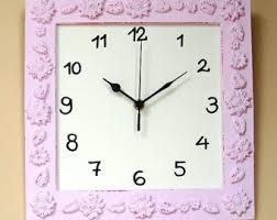 Shabby Chic Wall Clocks by Cream Shabby Chic Wall Decor Wall Clock