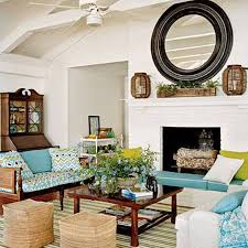 Lake Home Decorating Ideas Lake House Decorating Ideas With Mirror And Decorations Over