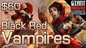 budget modern deck tech black red vampires 60 youtube