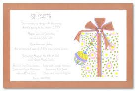 gift card shower wording modern gift card shower invitation rectangular shape blank