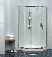 Daryl Shower Doors Curved Shower Door Curved Glass Shower Door With Visible Roller By