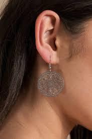 two earrings two high silver filigree statement earrings 7 tobi us