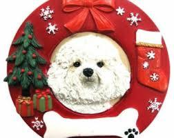 bichon ornaments etsy