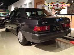 1992 mercedes benz 190e for sale classiccars com cc 701694