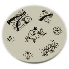 konad stamping nail art konad stamping nail art image plate m51