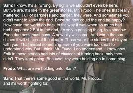 favorite quote lotr and the hobbit